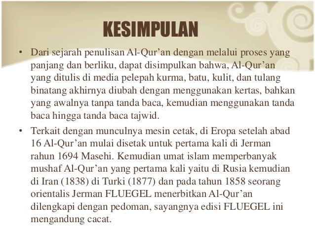 Makalah Rasmul Quran