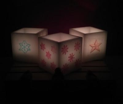 Luminárias de Natal