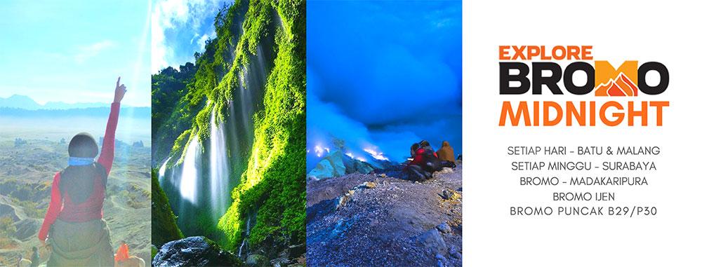 paket open trip wisata gunung bromo midnight
