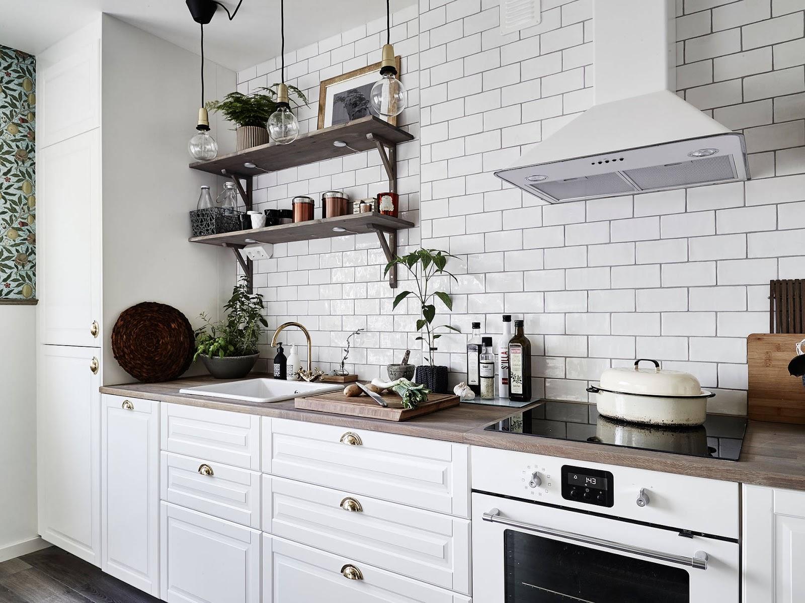 kafelki metro, białe kafelki do kuchni, kafelki prostokąty