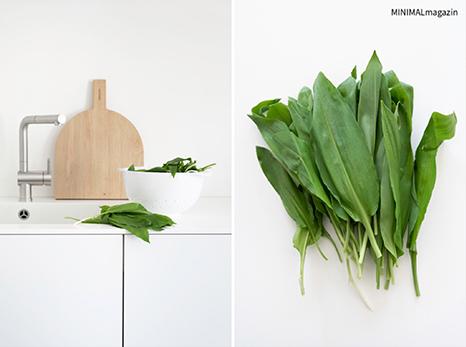 Bärlauchpesto selbst gemacht, meine Rezept und 4 Merkmale, wie du Bärlauch garantiert erkennst, Tipps findest du im MINIMALmagazin - minimalistisch wohnen und leben!
