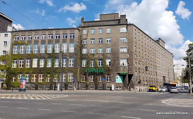 Warszawa Warsaw szara cegła Romuald Gutt Warszawska Szkoła Pielęgniarek lata 20. Koszykowa 78 Chałubińskiego architektura