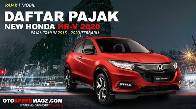 Daftar PAJAK New Honda HRV_2020