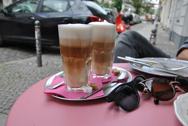 Auch köstlich im Ohlala: Latte Macchiato