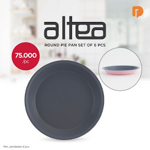 Altea Round Pie Pan Set (Set of 6)