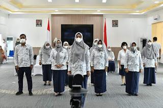 Ny. Maya Dilantik Sebagai Ketua YKI Kabupaten Batu Bara Periode 2021 - 2025