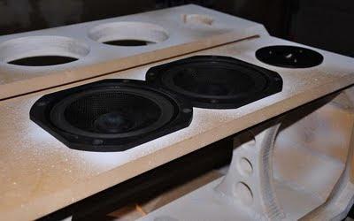 DIY 2-Way Tower Speakers - Ion