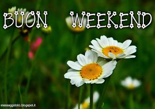 immagini di buon weekend