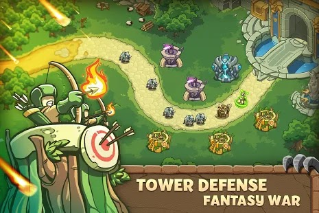 Empire Warriors: Tower Defense Apk Mod Free on Android Game Download