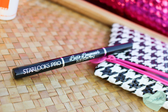 STARLOOKS | Luxe Longwear Eye Liner Pen in Black - Ipsy Glam Bag: August 2015 Review & Unboxing | Sammi the Beauty Buff