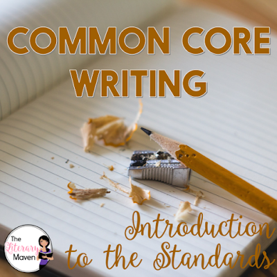 New to the Common Core writing standards or just confused? This post, the first in a series of ten, is an introduction to the standards and will explain their organization and how they build on each other from grade level to grade level.