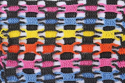 1 - CROCHET Imagen Punto entrelazado a crochet y ganchillo muy fácil y sencillo por MAJOVEL CROCHET