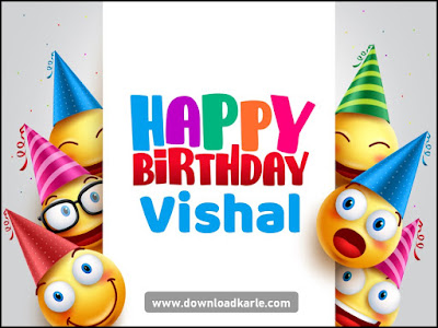 Happy Birthday To Vishal Wallpaper