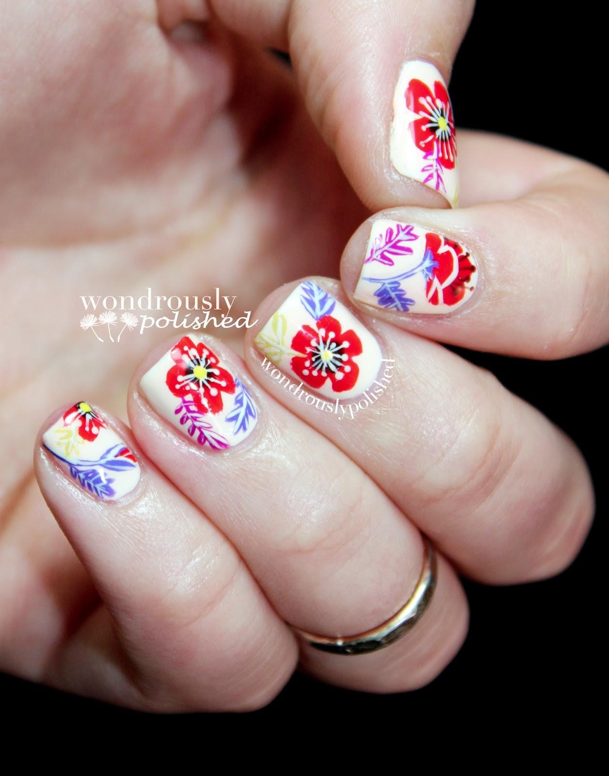 Wondrously Polished: April Nail Art Challenge