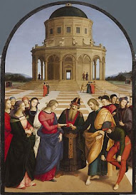 Raphael's The Marriage of the Virgin in the Brera gallery