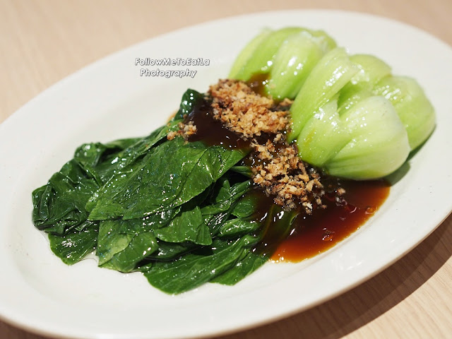 Pak Choy with Oyster Sauce