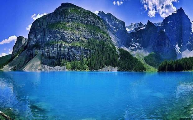 Lago Moraine Canadá