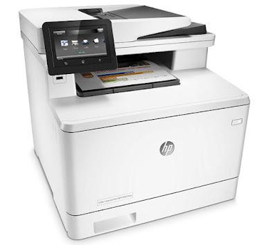 HP MFP-Drucker M477fnw treiber