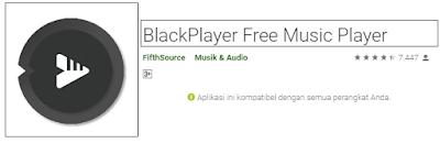 black player musik offline Aplikasi Player Musik Offline Gratis Terbaik di Android