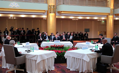BRICS Leaders' Meeting.
