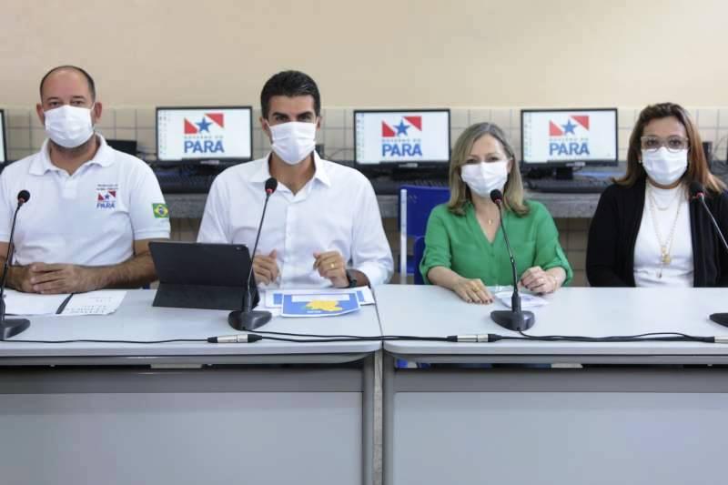 Pará apresenta plano de retomada das aulas presenciais da rede estadual