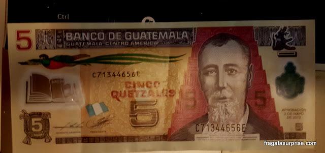 Quetzal, moeda da Guatemala