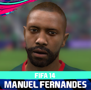 FIFA 14 Faces Manuel Fernandes by Rale