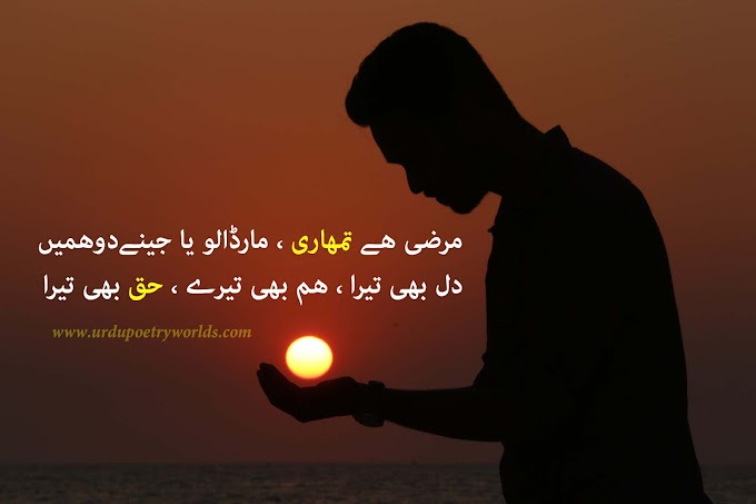 Sad Poetry | Urdu Sad Poetry | Sad Shayari SMS