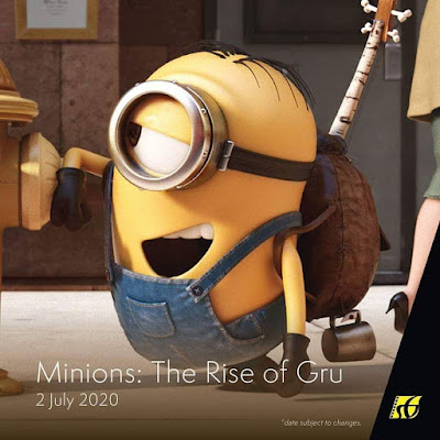 Filem Keluar Panggung Wayang 2020 | Minions: The Rise of Gru (2020)
