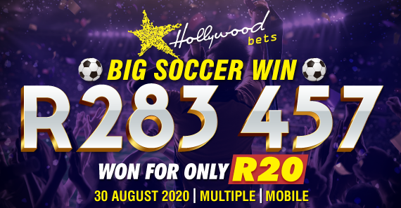 R283 457 Won for R20