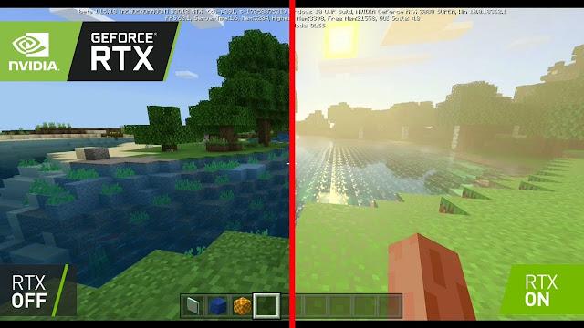 Minecraft RTX görseli
