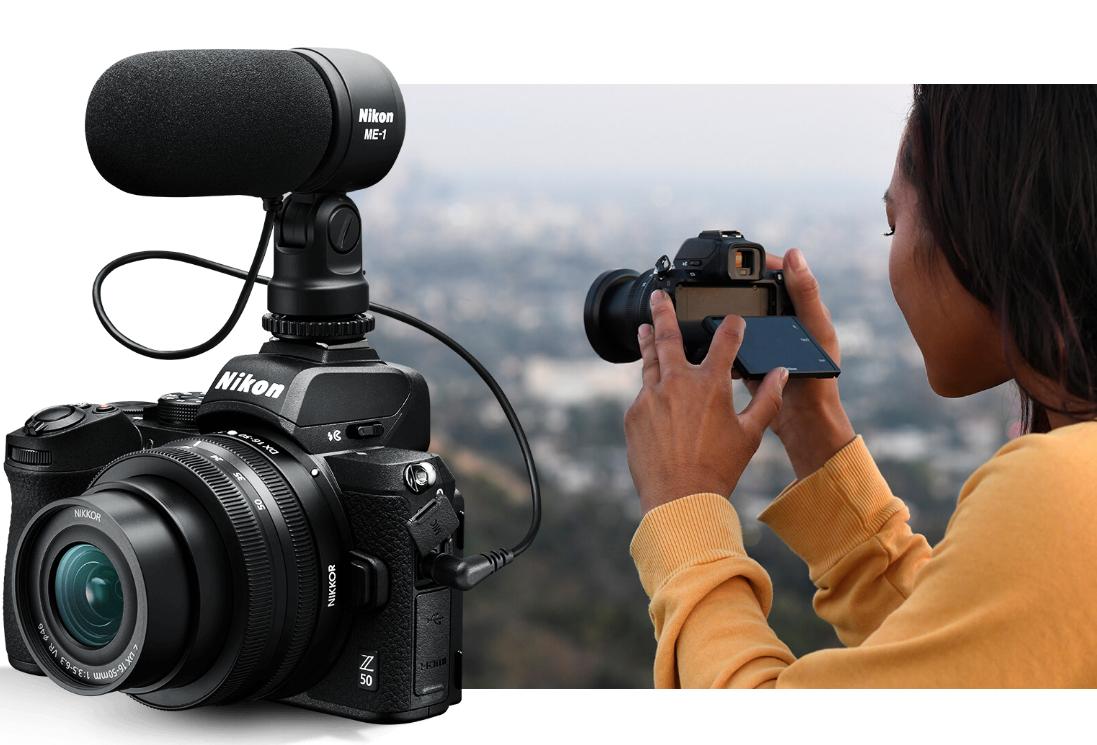 Видеосъемка с помощью камеры Nikon Z50