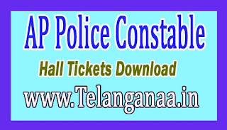 AP Police Constable & Warder PMT/PET Hall Tickets Download 2016