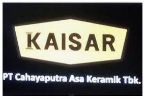 CAKK CAHAYAPUTRA ASA KERAMIK RAIH PENJUALAN Rp62,42 MILIAR HINGGA MARET 2021