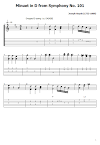 Minuet in D Tabs Joseph Haydn. How To Play Minuet in D On Guitar/ Joseph Haydn Minuet in D Free Tabs / Classical Sheet Music. Joseph Haydn - Minuet in D