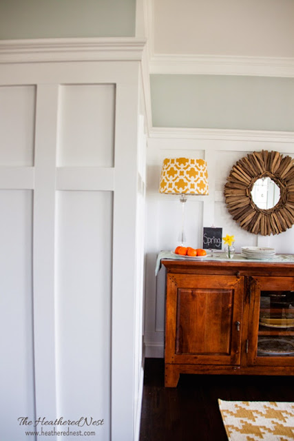 Beautiful, Colorful House Tour from Heathered Nest at 11 Magnolia Lane's Spring Home Tour!