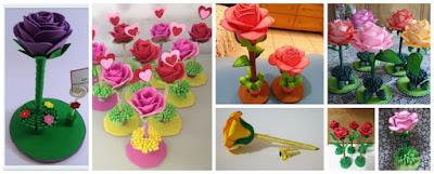 rosas-foami