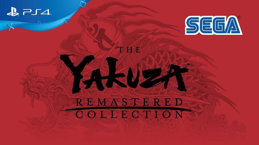 yakuza remastered collection sega yakuza 3 yakuza 4 yakuza 5 ps4
