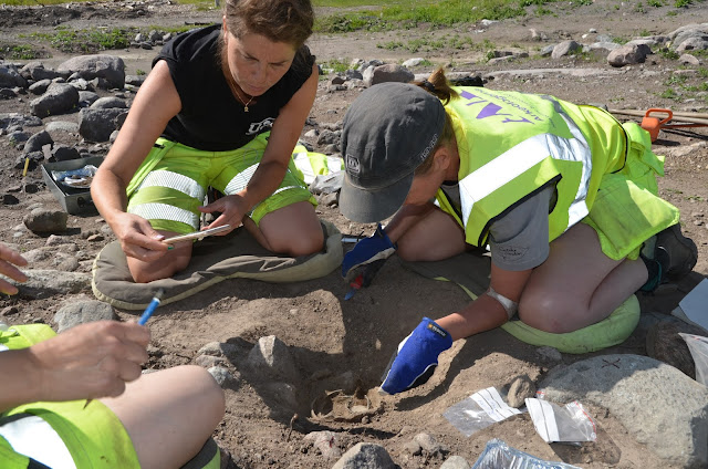 Viking silver treasure hoard discovered in Sweden
