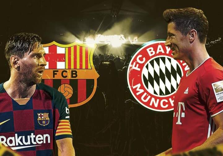 بايرن ميونيخ +برشلونة +توقيت المباراة