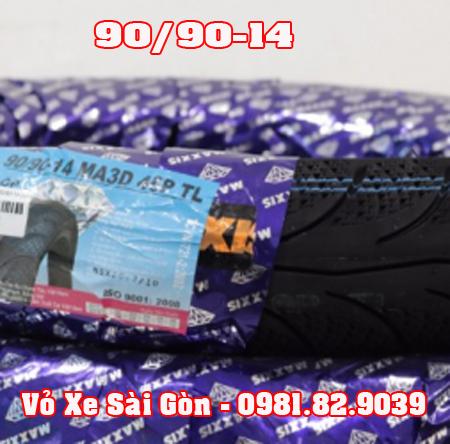 Vỏ xe máy Maxxis 90/90-14 3D Airblade, Luvias, Vision, PCX