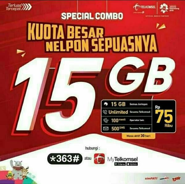 """Sepertinya Saya """"Tertipu"""" Harga Promo Telkomsel 15GB!"""