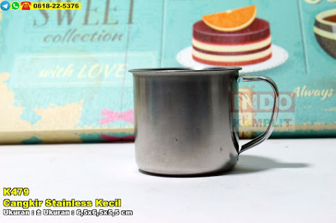 Cangkir Stainless Kecil