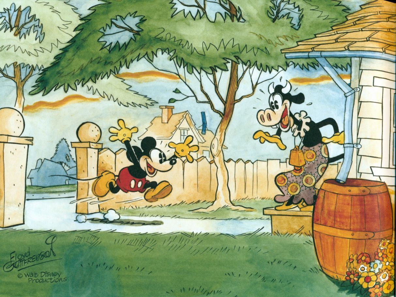 Mickey Mouse Treasure Island Comic