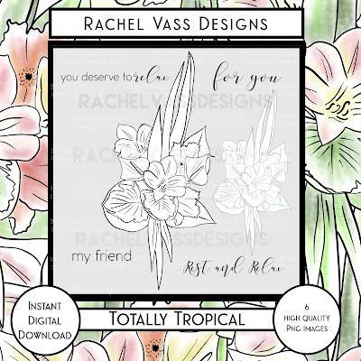 Rachel Vass Designs - Totally Tropical