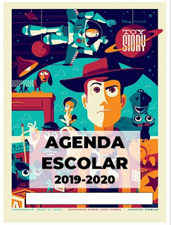 Agenda Escolar Editable Toy Story