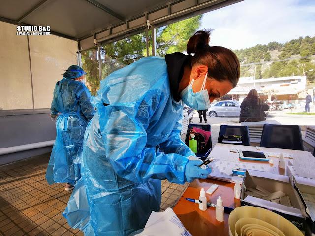 Rapid test στο Νοσοκομείο Άργους και την Πουλακίδα