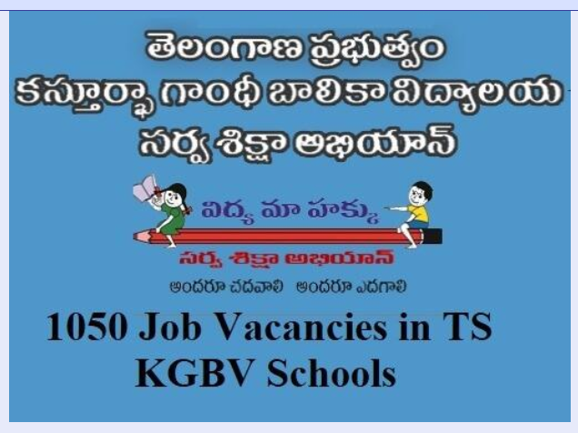 Telangana KGBV Recruitment | KGBV Recruitment 2019- 1050 Job Vacancies in TS KGBV Schools/2019/06/Telangana-kasturba-gandhi-balika-vidyalaya-KGBV-recruitment-2019.html