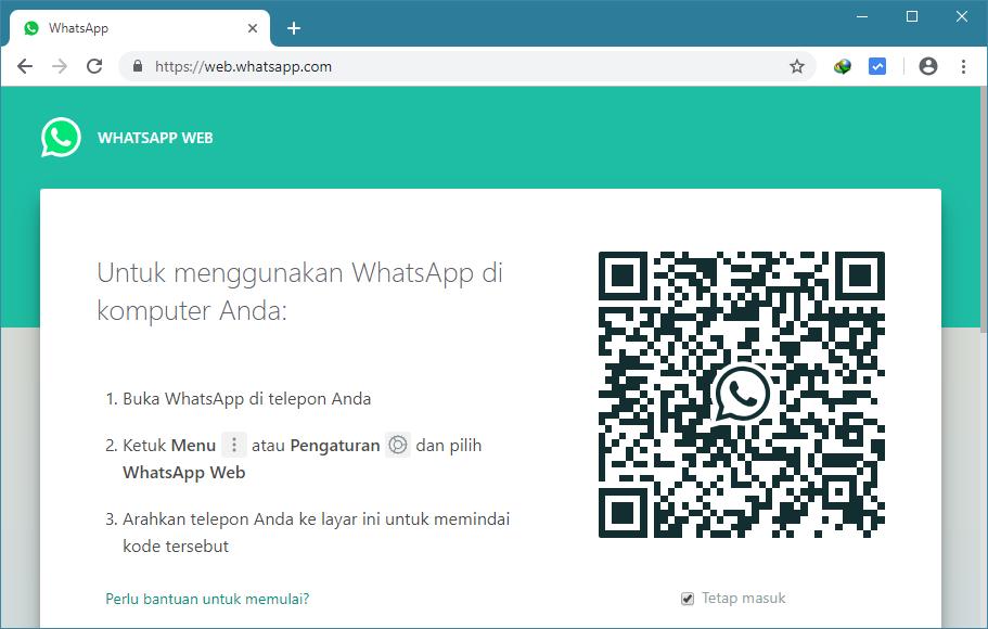 Cara Menggunakan Whatsapp Web Di Komputer Pc Atau Laptop Windows Cara Tutorial Terbaru