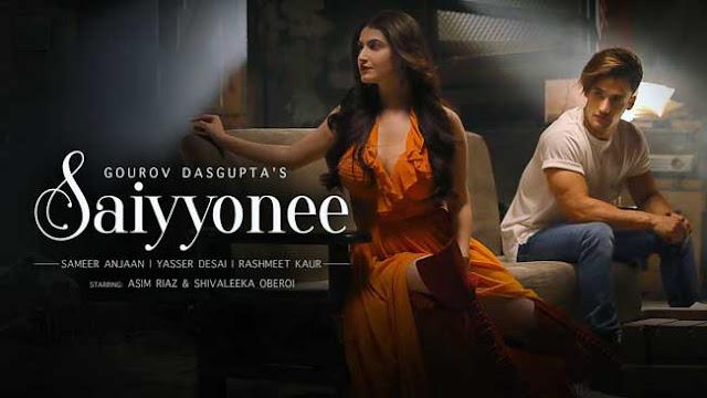 Saiyyonee Song By Yasser Desai & Rashmeet kaur